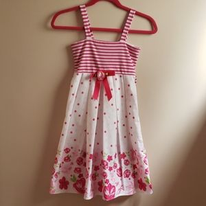 Sweet Dollie & Me Girls Sz 10 Spring/Summer Dress-
